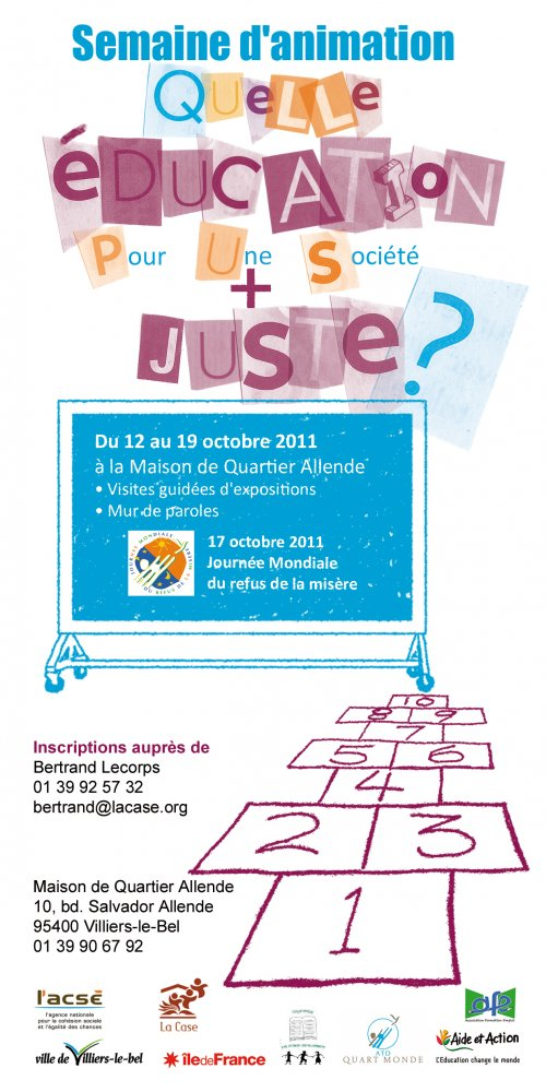 Flyer Semaine d'animation 17 octobre 2011